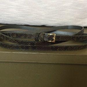 Banana Republic x Olivia Palermo Leather Belt